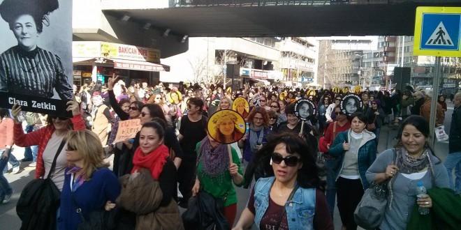 ئەنقەرە: ٨ی مارس ڕۆژی جیهانی ژن!